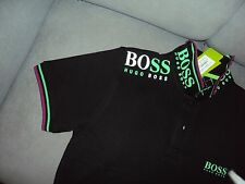 "Hugo Boss Men 100% Cotton Polo Short Sleeve Collar T shirt Chest:20.5"" - M"