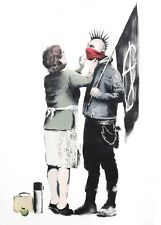 BANKSY ART POSTER PRINT A3 SIZE(MOTHER LOVE)