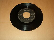 """LUCILLE STARR 45 TOURS 7"" BELGIUM DOWN AND WRITE A LETTER TO ME"