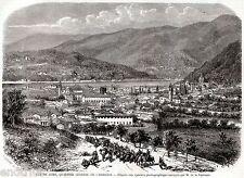 COMO: Quartier Generale dei Cacciatori delle Alpi di Garibaldi.Risorgimento.1859