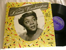 DINAH WASHINGTON Complete Vol 4 Cootie Williams Dave Young Mitch Miller LP