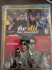 DVD Aa Dil Ha Mushkil & Bombay Velvet  Hindi Bollywood Movie 2 In 1 Hindi movie