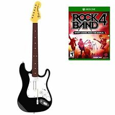 New Rock Band 4 Wireless Guitar Bundle- Xbox One  2 DAYS SHIPPING