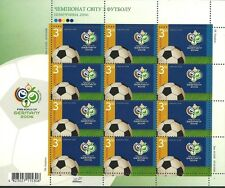 Ukraine 2006 - Sports World Cup Soccer Championships Germany Sheet- Sc 651/2 MNH