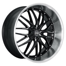 MRR GT1 19x8.5 5x114.3 Black Wheels Fits Infiniti G35 G37 Sedan 350Z 300X Is300