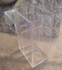 "Acrylic Siphon Overflow Box Filter - Marine Aquarium Fish Tank 10"" x 6"" x 6"""