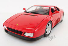 Hot Wheels 1989 89 Ferrari 348 TB Italia 1:18 Diecast Car Model Red X5532