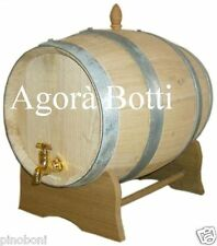 Botti/botte in CASTAGNO 20 LT PER ACETO, VINO E GRAPPA