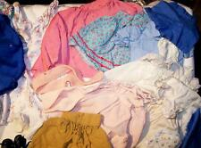 VINTAGE HANDMADE BABY DOLL CLOTHES OVER 20 SEPERATE PIECES