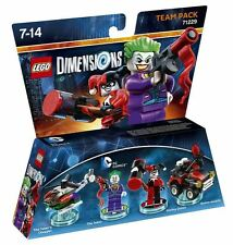 LEGO Dimensions - DC Comics - Joker and Harley Quinn Team Pack
