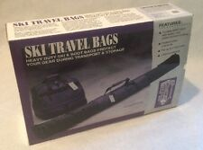 Apres Ski Plum Black And Teal Travel Bags.  Heavy Duty Carry On.  2  Piece Set