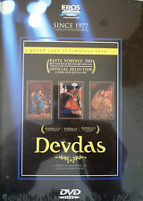 DEVDAS  - NEW ORIGINAL EROS BOLLYWOOD DVD-Shah Rukh Khan, Madhuri Dixit, Aishwar