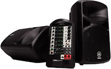 Yamaha Stagepas 400i Portable PA System for iPod/iPad USB 200+200W - Free Ship