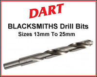 DART Blacksmiths Ground HSS Metal/Plastic/Wood Drill Bits,All Sizes 13mm To 25mm