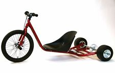 New Gas Powered Drift Trike Chassis. Metallic Red.