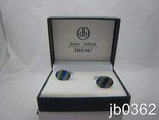 Dolan Bullock Sterling Silver Cuff Links Euro Link