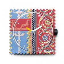 S.T.A.M.P.S. Orologio faccia di Luigi XIV Blu & Rosa