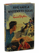 Five Have a Mystery to Solve ENID BLYTON ~ First UK Edition 1962 ~ Famous 5 1st