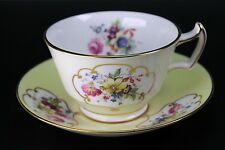 Antique Hammersley Yellow Flowers Porcelain Cup and Saucer 3082