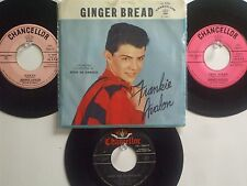 LOT OF 4 ' FRANKIE AVALON ' HIT 45's+1PS[Ginger Bread]   THE 50's!