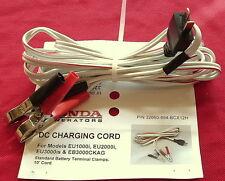 Honda generator oem battery charging cord 12v DC EU1000i EU2000i EU3000i camping