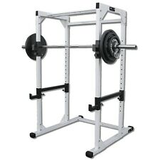 DF4500 Pro Power Rack by Deltech Fitness with 300 lb Weight Set NEW