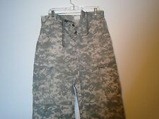 GENUINE USGI ARMY COMBAT UNIFORM ACU PANTS UNIVERSAL CAMO MEDIUM REGULAR W-1
