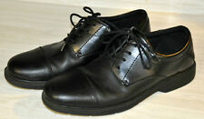 Nunn Bush Mens Black Leather Dress Shoes Cap Toe Lace Up Oxfords Size 11 M