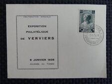 BELGIEN BELGIUM TUBERKULOSE PRINCESS CHARLOTTE 1938 KARTE CARD c2394
