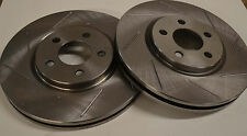 Dodge Neon SRT/4 04 05  Sloted Rotors Front Pair