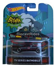 TV Series Batmobile Batman Retro Entertainment 2016 Hot Wheels Case A - NEW