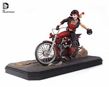 DC COMICS GOTHAM CITY GARAGE HARLEY QUINN STATUE ~BRAND NEW~