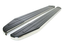 Raptor Side Steps With Stainless Steel Trim Exterior For Hyundai Ix35 2010-2015
