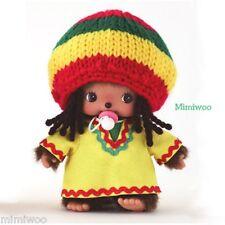 Sekiguchi Bebichhichi Monchhichi Baby Plush BBCC Jamaica Boy ~~ RARE ~~