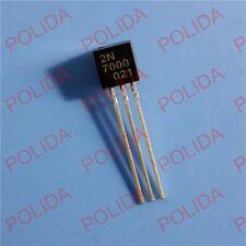100PCS MOSFET Transistor CHANGJIANG TO-92 2N7000