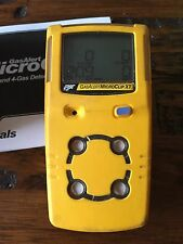 BW GasAlert MicroClip XT Multi gas Monitor Detector Meter H2S,LEL,CO,O2 New OXY!