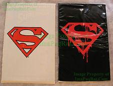 Superman #75 Black Bag & Adventures of Superman #500 White Bag BOTH SEALED DC