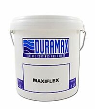 MAXIFLEX  ACRYLIC HIGH BUILD DECORATIVE UV WATER PROOFING PAINT 15L NEW