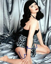 ISABELLA ROSSELLINI.. as Pin-Up Beauty Bettie Page - SIGNED