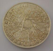 10 Dt. Mark Silber Silbermünze / Bundesrepublik Deutschland 1949 - 1989 / 1989 G