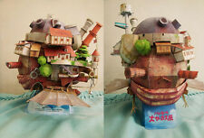 Hayao Miyazaki Howl's Moving Castle Paper Model Kit Flying Version