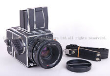 Hasselblad 503CW camera + CFE 80mm f/2.8 T* + A12 film back in chrome 503 CW