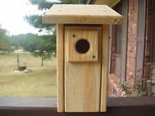 Blue Bird bluebird bird house (Deluxe style)