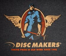 DISC MAKERS - Men's size M - Graphic T-Shirt
