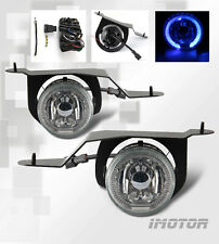 [LED Halo]For 2001-2004 Nissan Frontier/Xterra Fog Lights+Wiring Kits&Switch