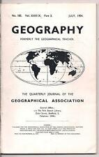 GEOGRAPHY-geographical assoc. journal-JULY 1954-INDIA AND PAKISTAN.
