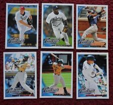 2010 Topps San Diego Padres Baseball Team Set w/ Update 29 Cards ~ Tony Gwynn Jr