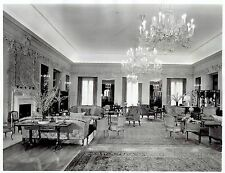 1939 Vintage AP Photo Portrait Grand Ballroom British Embassy Washington DC