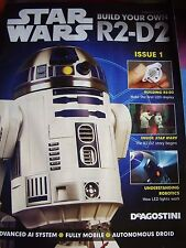 DEAGOSTINI STAR WARS R2 D2 # 1  PARTWORK  1:2 SCALE BUILD YOUR OWN MODEL DROID