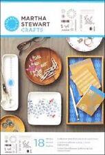 Martha Stewart ADHESIVE STENCILS 18 Designs FAIR ISLE DOTS